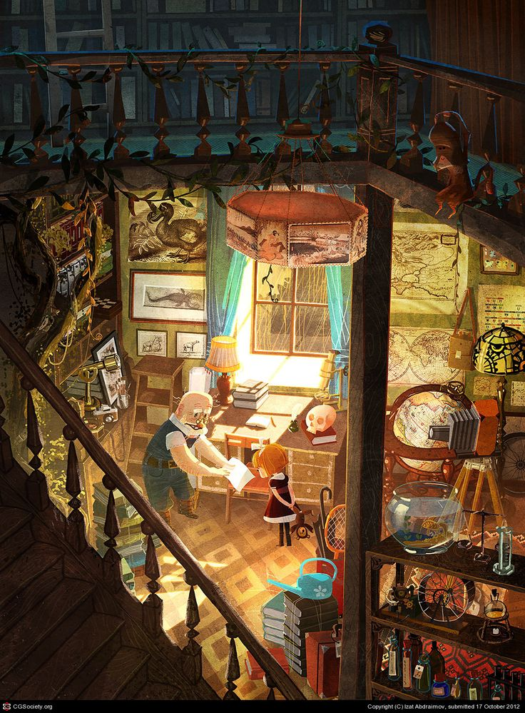 Jennings Lab - Izat Abdraimov - http://zet.cgsociety.org/gallery/