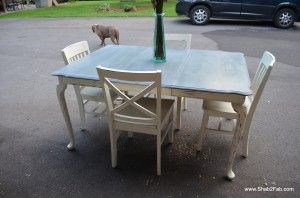 chalk paint dining room table house and home pinterest