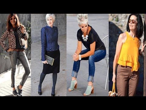 783c9e1d95 TENDENCIAS FASHION STYLE MUJERES 50-60 AÑOS Outfits 2018 - YouTube ...