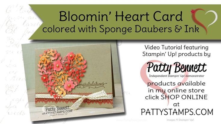 Bloomin' Heart Card Ideas - Stampin' UP! thinlit die