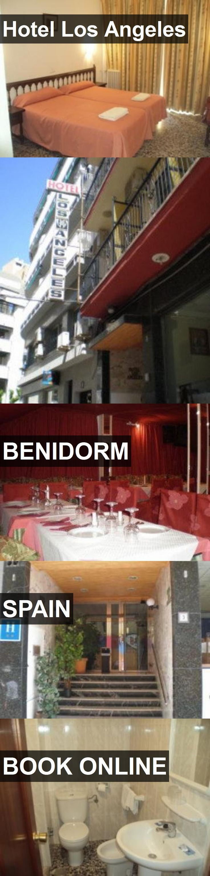 Hotel Hotel Los Angeles in Benidorm, Spain. For more information, photos, reviews and best prices please follow the link. #Spain #Benidorm #HotelLosAngeles #hotel #travel #vacation
