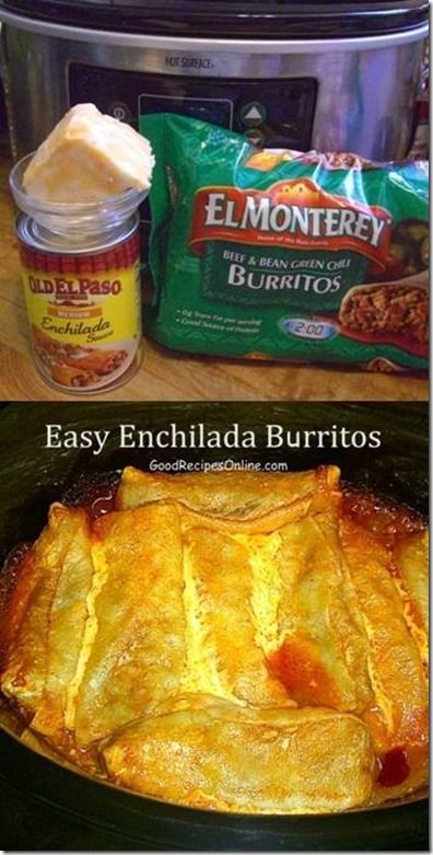 This Easy Enchilada Burritos recipe is on of my favorite go-to meals. You just open the package & plop it in the crock-pot. I usually use the pre shredded cheese. I just happened to have this b...