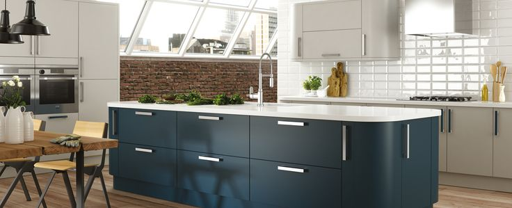 Icon Paint to Order kitchen units from Jewson.