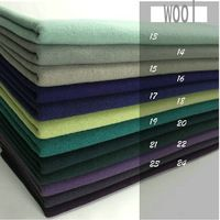 6color  Free Shipping  Cashmere and Woolens cut velvet  wool fabric FOR coat Winter garment