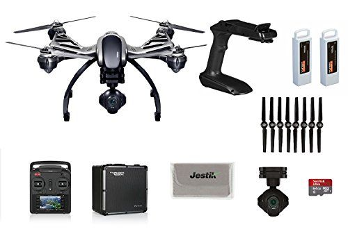 YUNEEC Q500 4K Typhoon Quadcopter w/ CGO3 Gimbal Camera, Aluminum Case, Free 64GB Micro SD, ST10+ Ground Station, Handheld CGO Steady Grip, 2 Batteries, 2 Sets Propellers, Plus Jestik Microfiber Cloth - http://www.midronepro.com/producto/yuneec-q500-4k-typhoon-quadcopter-w-cgo3-gimbal-camera-aluminum-case-free-64gb-micro-sd-st10-ground-station-handheld-cgo-steady-grip-2-batteries-2-sets-propellers-plus-jestik-microfiber-cloth/