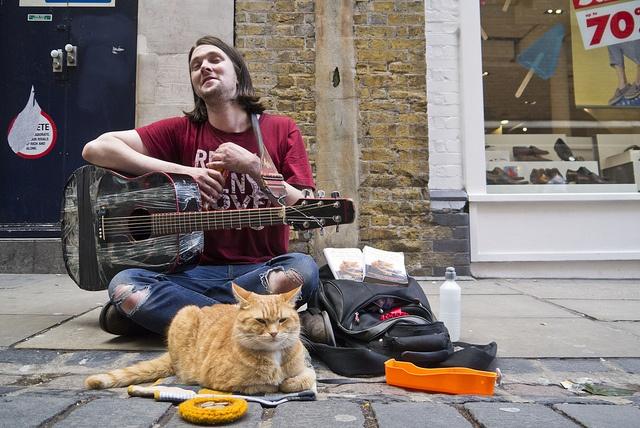 James Bowen and a Street Cat Named Bob Street cat bob