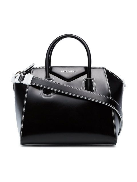859c67bbc835e Givenchy Black And White Small Antigona Leather Tote $2,450 - Buy Online  SS18 - Quick Shipping, Price