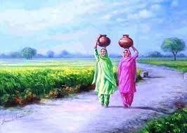 Punjabi culture paintings