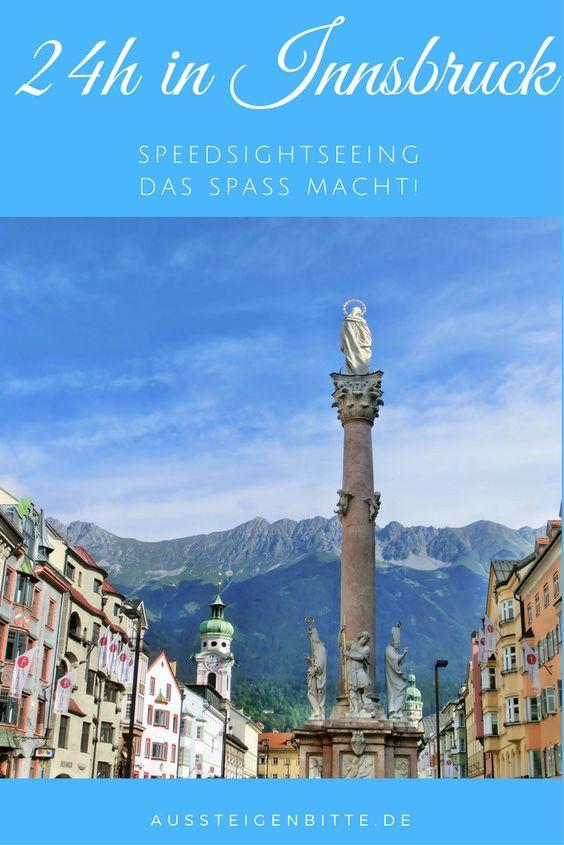 Du hast nur kurze Zeit in Innsbruck? Keine Sorge! Ich hatte auch nur wenig Zeit.  Wie Du in ein paar Stunden trotzdem alle wichtigen Sehenswürdigkeiten des wunderschönen Innsbruck siehst, liest Du hier.