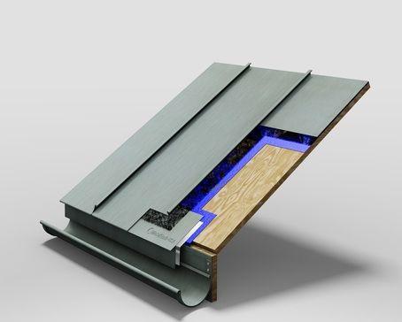 Standing Seam Roof Panel System