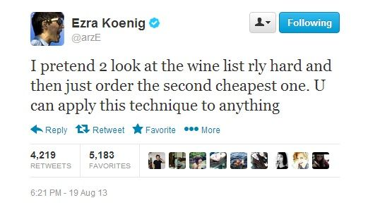 Ezra Koenig so wise for one so young x