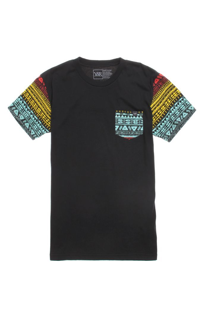 Mens Young & Reckless T-Shirts - Young & Reckless Killer Crossover Pocket T-Shir