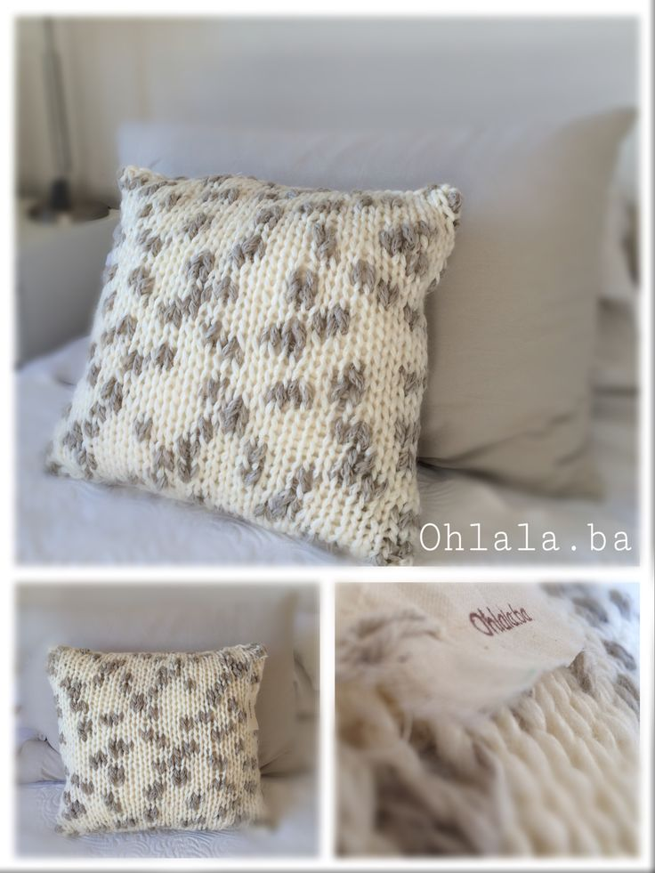 Almohadón Natural en pura lana