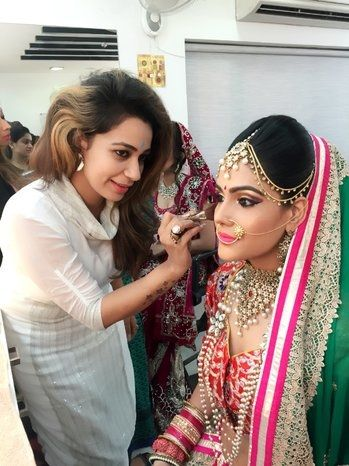 Now here is my bride :) makeup  n attire ❤️must say beautiful bride