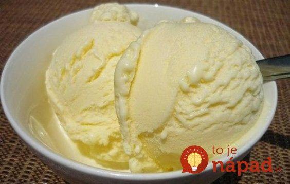 Výborná zmrzlina, ktorú môžete obmieňať pridávaním rôznych ingrediencií. Je krémová a fantastická.