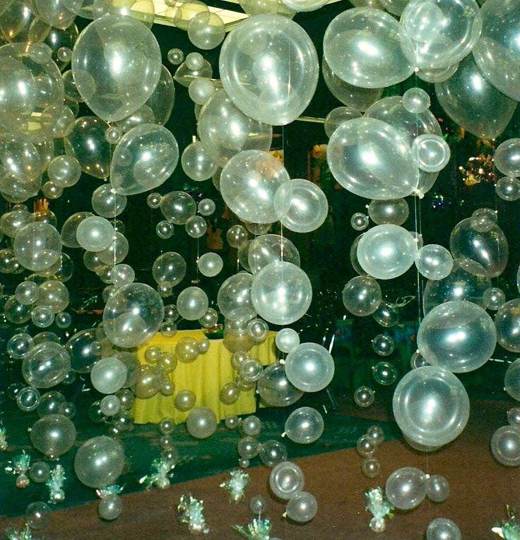 Balões Transparentes Bolhas