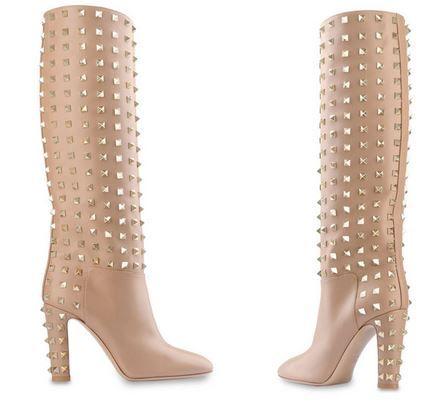 My new boot obsession: Valentino Garavani Rockstud Boots