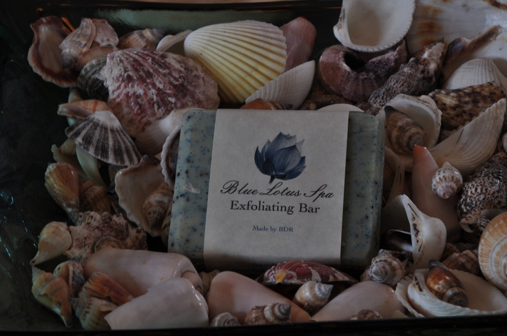 Blue Lotus Exfoliating Bar. Great for your feet or any other body part which needs a good scrub! www.backdirtroad.com