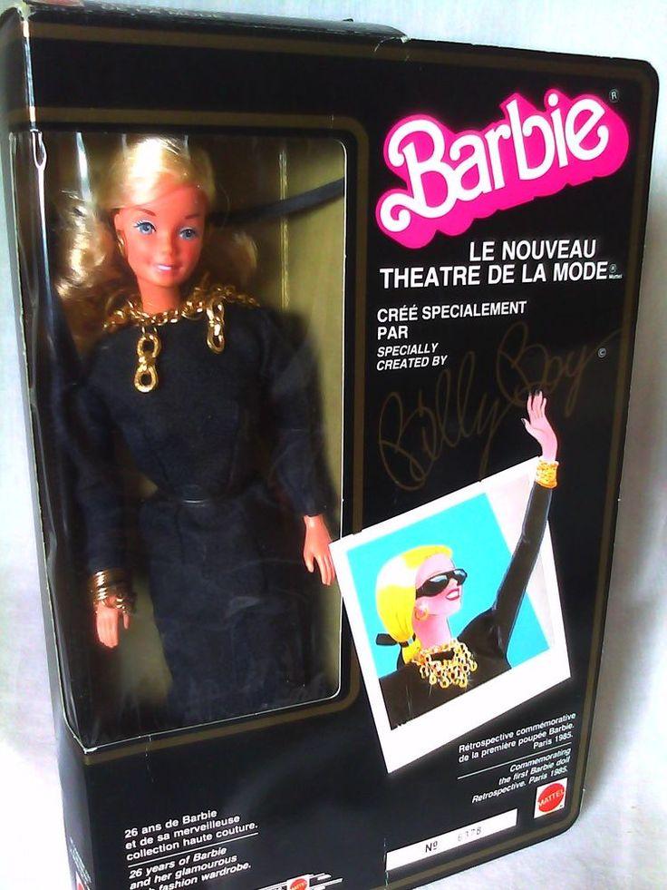 VINTAGE 1985 FOREIGN LE NOUVEAU THEATRE DE LA MODE BILLY BOY BARBIE DOLL NEW