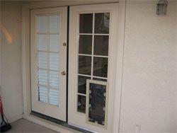 Sliding Glass Doors With Doggie Door Built InFine Sliding Glass Doors With Doggie Door Built In Freedom Dog On  . French Door With Dog Door Built In. Home Design Ideas