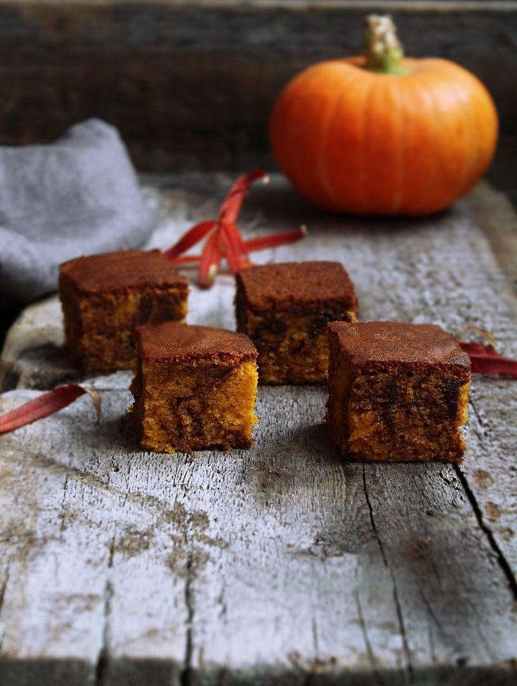 Тыквенно-шоколадные брауни - Karamelka