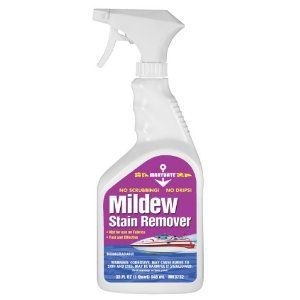 how to get rid of mildew stain in carpet