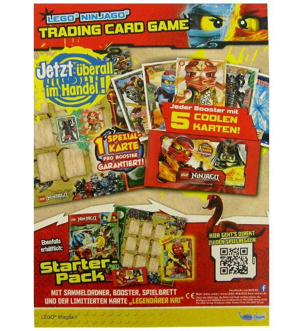 Lego Ninjago Serie 2 Trading Cards Multi Pack Lego Ninjago Lego Karten