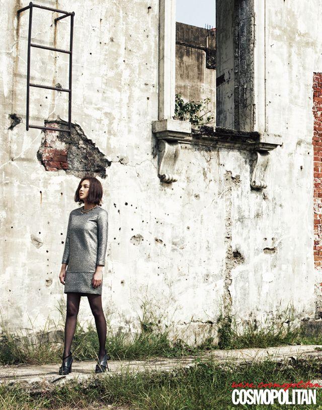 More Of Park Si Yeon In Manila For Cosmopolitan Korea