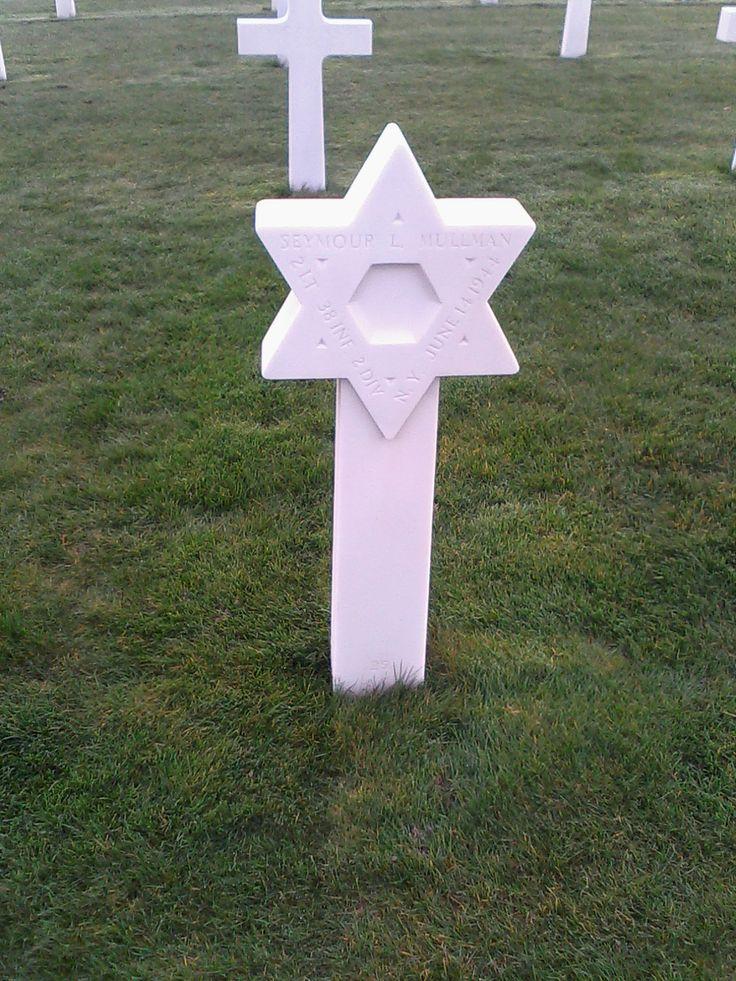 Voici la tombe d'un soldat juif mort lors de la seconde ...