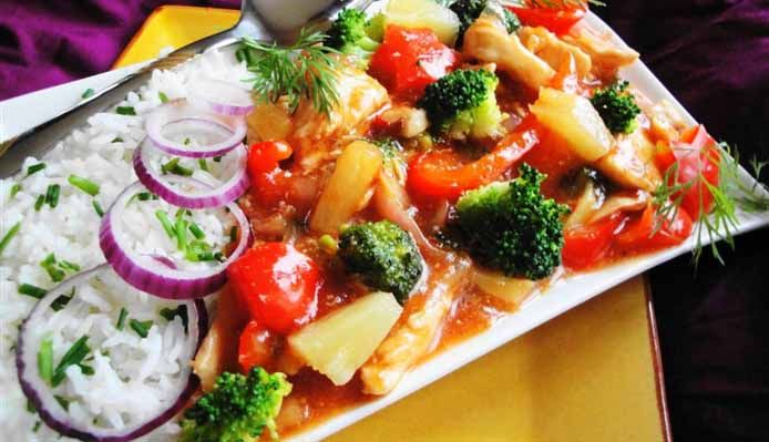 Surinaams eten – Chicken Paramaribo Speciaal (speciale Surinaams-Chinese kip)
