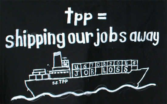 Stop the TPP Trade Agreement | ... tracking Trans-Pacific Partnership gives foes time to fight trade deal