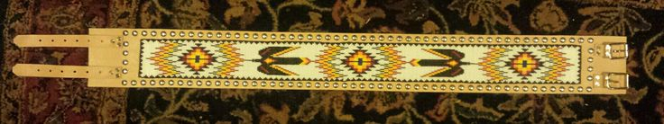 New beaded belt by Scott Sutton March 2015
