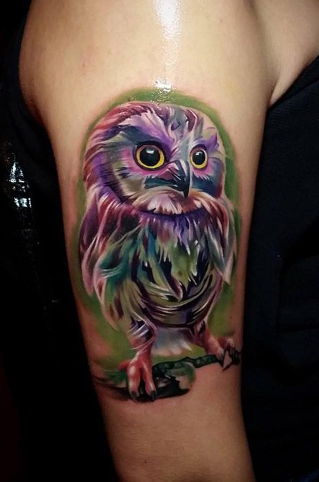 The 43 best images about Best Owl Tattoos in the World on ...