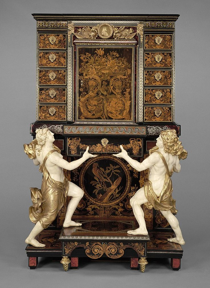 A cabinet-on-stand attributed to André-Charles Boulle at the Getty Museum - J. Paul Getty Museum - Wikipedia