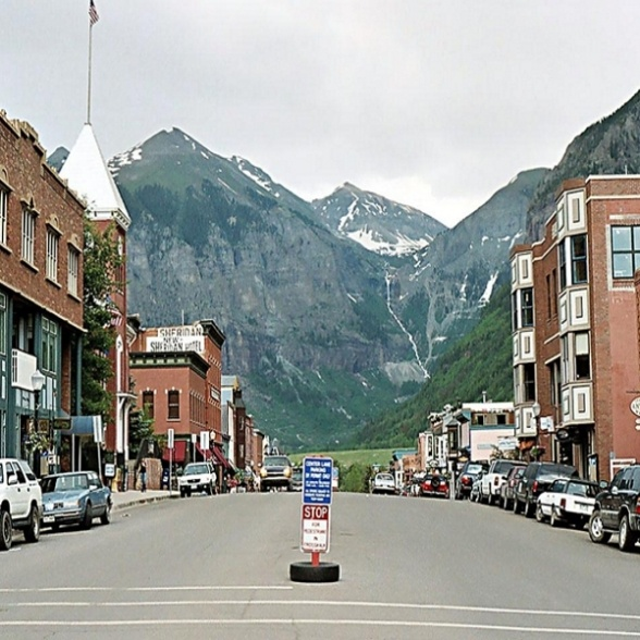 Ouray- Colorado= the Switzerland of America