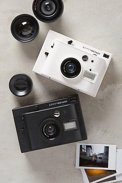 Lomo' Instant Camera & Lens Collection - anthropologie.com