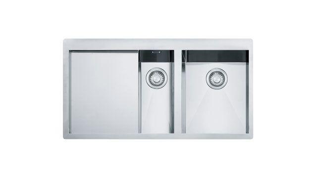 Franke Kitchen Sinks Planar PPX 251 TL Stainless Steel