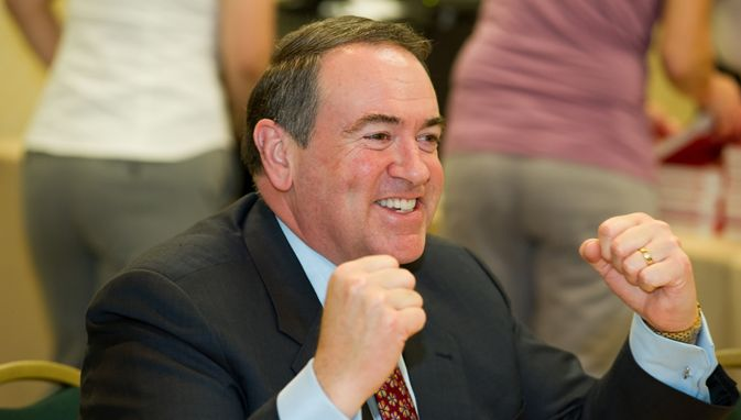 "Gov. Mike Huckabee Says Obama Is Struggling To Lead Because Of Lack Of Sex: ""Abstinence Can Be A B*tch"""