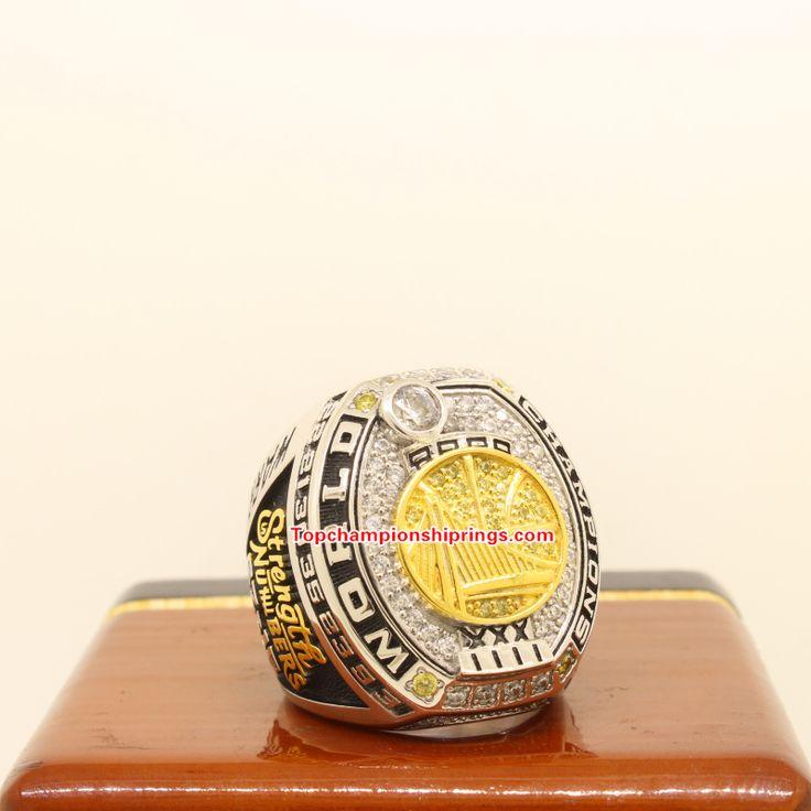 2017 Golden State Warriors NBA Basketball Championship Ring