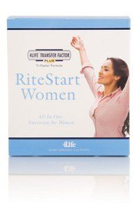 Rite Start Women - 1 Box (15 Day Supply) by 4LIFE RESEARCH. $59.95. Complete Multivitamin and mineral supplement with transfer factor. Complete support for your body with Transfer Factor