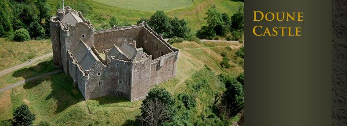 Doune Castle: film site of Monty Python, Outlander and Winterfell in GOT pilot episode!