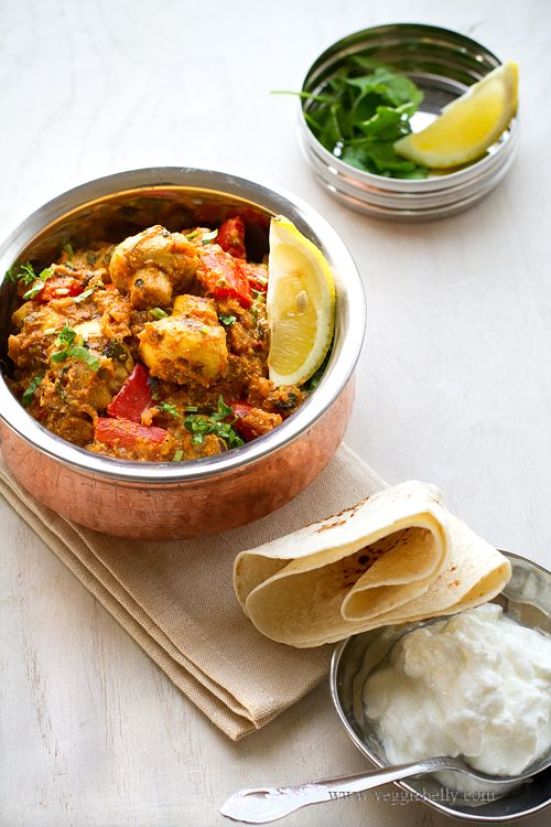 Mushroom Tikka Masala - Indian Food