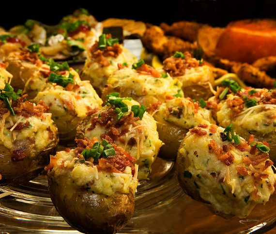 kelly's secrets: Γεμιστές πατάτες φούρνου με τυριά και μπέικον