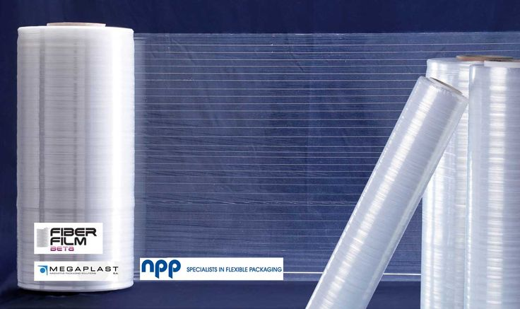 Fiberfilm is a novel, high efficiency stretch film with reinforcement elements (fibers) to increase tear resistance. This product has been designed to exhibit equivalent or better performance, compared to the corresponding conventional stretch films.  Fiberfilm has revolutionary features to fulfil the needs of every stage of the value.