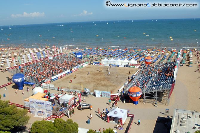 beach volley- Lignano Sabbiadoro- Italy