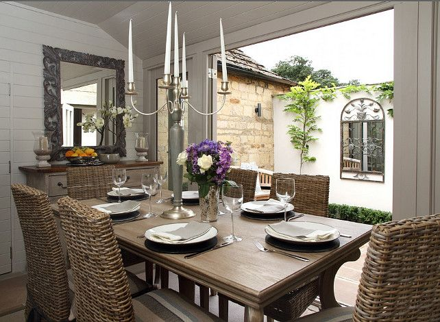 Perfect size for my small dining area my dream home for Small dining room ideas pinterest