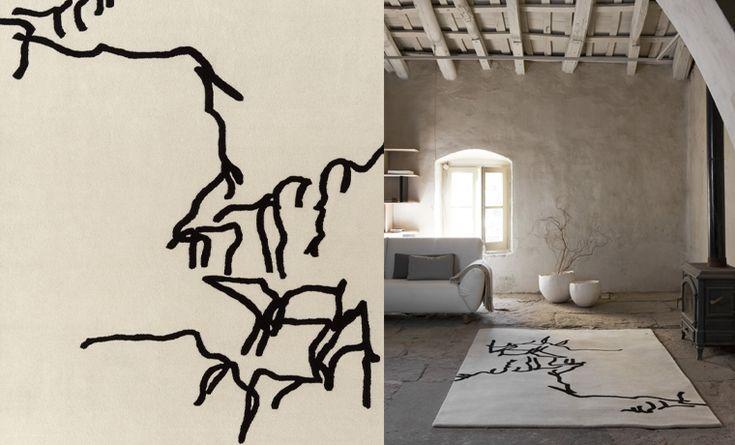 Coleccion Chillida Dibujo Tinta 1957http://www.nanimarquina.com/en/products/rugs/chillida