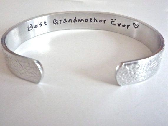 Grandma Gift  Grandma Birthday Present  Best by TheSilverSwing