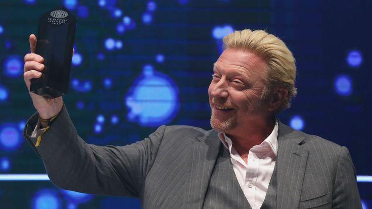 Boris Becker entregó una raqueta falsa para una subasta benéfica