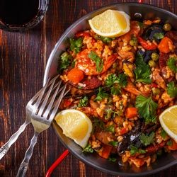 Recipe for Prawn Chorizo Jambalaya
